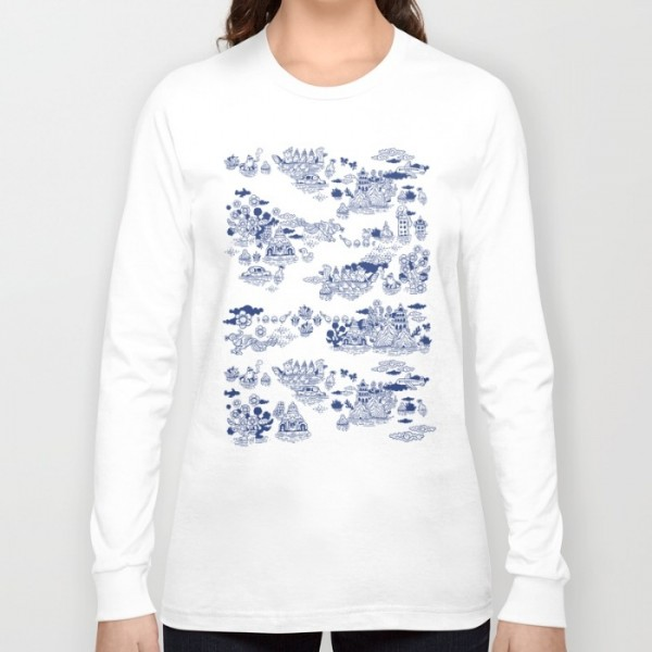 flood-in-antique-chinese-porcelain-efk-long-sleeve-tshirts