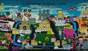 mural painting map of Chiang mai_small