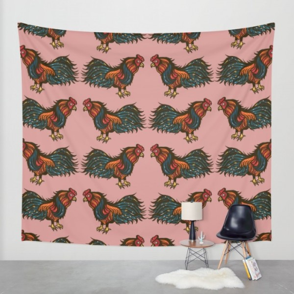 the-fighting-cock-tapestries