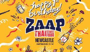 Zaap Newcastle birthday week